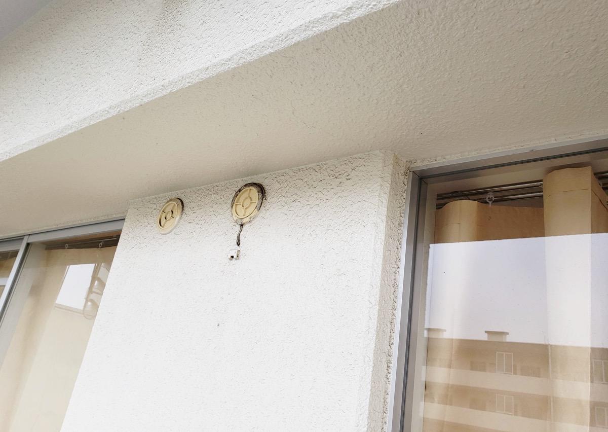 JKK東京の窓枠