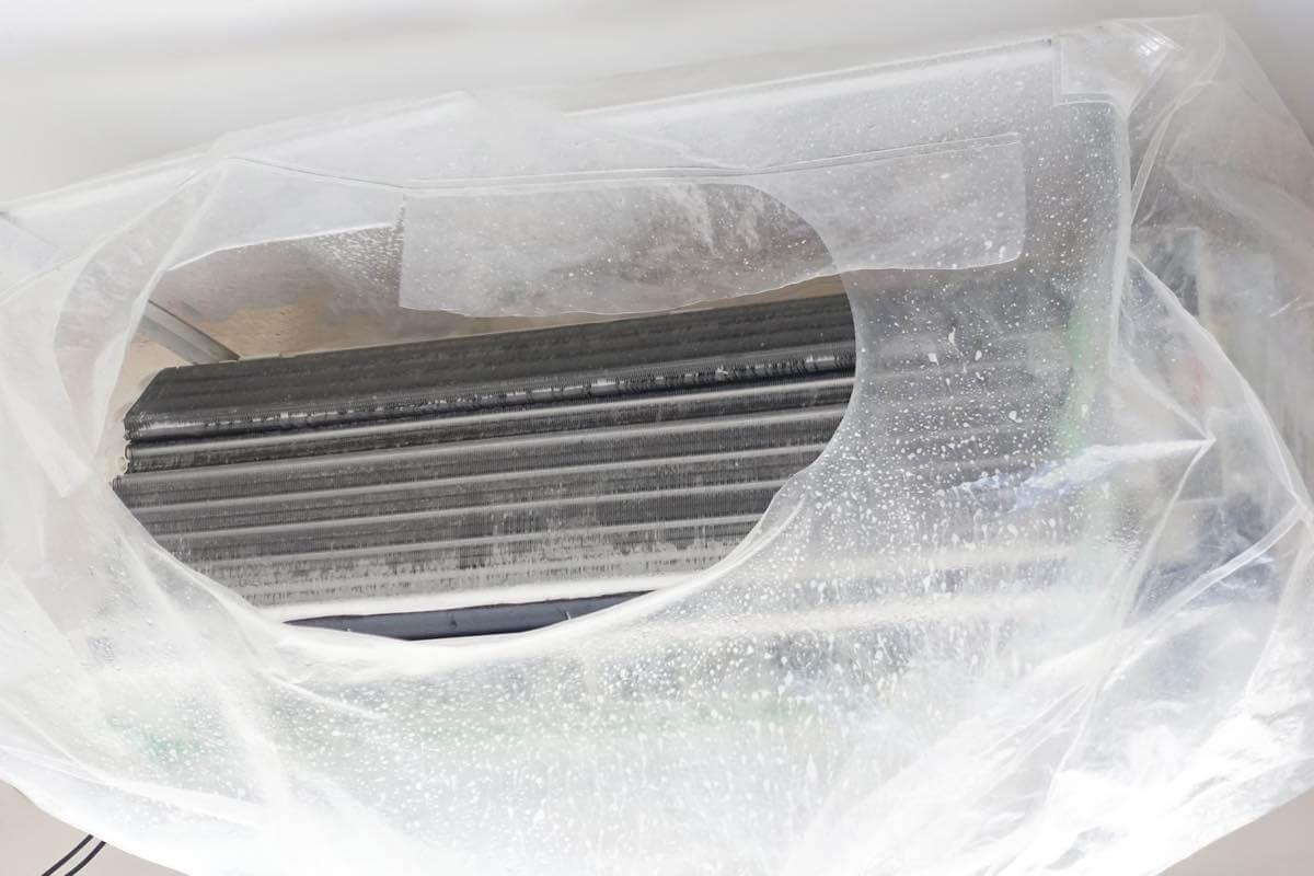 エアコンの内部清掃